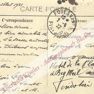 Lazzari, Sylvio, französischer Komponist (1857-1944).