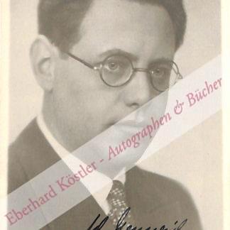 Mennerich, Adolf, Dirigent (1902-1966).