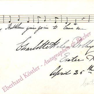 Dolby (Sainton-Dolby), Charlotte Helen, Sängerin (1821-1885).