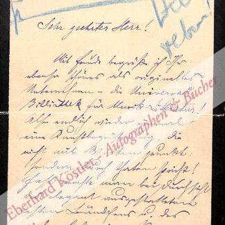 Kleinecke, Rudolf, Komponist und Schriftsteller (1861-1940).