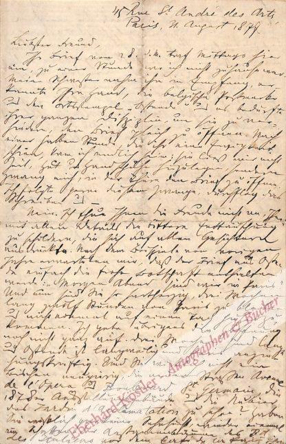 Nordau, Max (eigentl. Simon Maximilian Südfeld), Schriftsteller, Arzt und Mitbegründer des Zionismus (1849-1923).