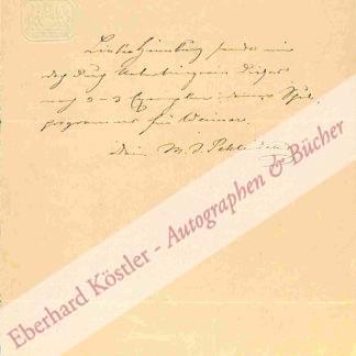 Schleiden, Matthias Jakob, Naturforscher und Botaniker (1804-1881).