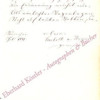Hagn, Charlotte von, Schauspielerin (1909-1891).