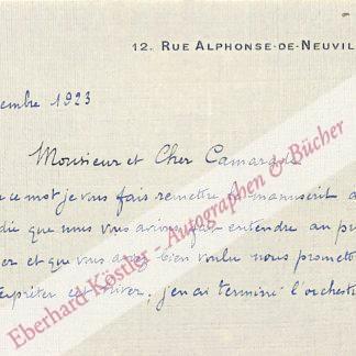 Bertelin, Albert, Komponist (1872-1951.