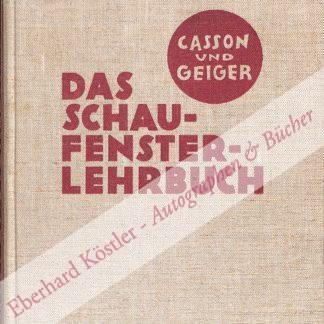 Casson, Herbert Newton, und Hans M. Geiger,  .