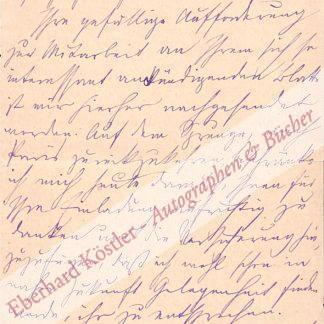 Nordau, Max, Schriftsteller, Arzt und Zionist (1849-1923).