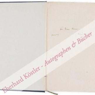 Kraus, Karl, Schriftsteller (1874-1936).