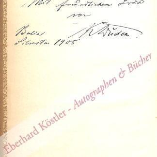 Duden, Konrad, Philologe und Lexikograph (1829-1911).