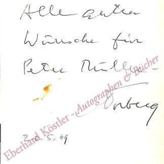 Torberg, Friedrich, Schriftsteller (1908-1979).