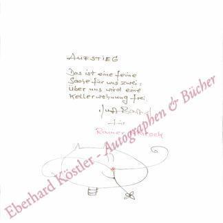 Bartsch, Kurt, Lyriker (1937-2010).