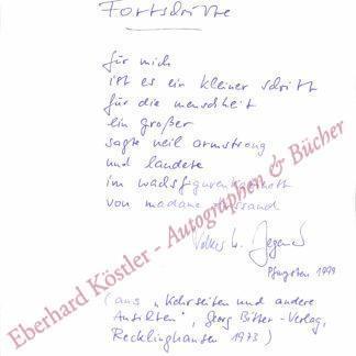 Degener, Volker W., Schriftsteller (geb. 1941).
