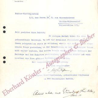 Deißmann, Adolf, Theologe (1866-1937).