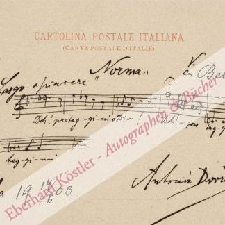 Dvorák, Antonín, Komponist (1841-1904).
