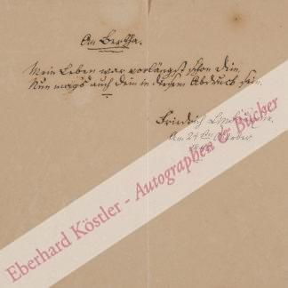 Fouqué, Friedrich Heinrich Karl de la Motte, Schriftsteller (1777-1843).