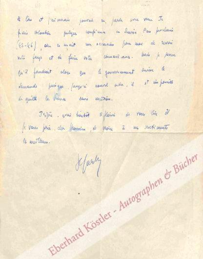 Sartre, Jean-Paul, Schriftsteller und Philosoph (1905-1980).