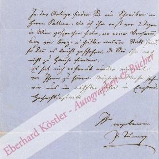 Tunner, Peter, steirischer Bergbaupionier (1809-1897).