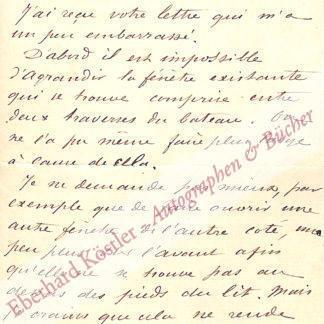 Maupassant, Guy de, Schriftsteller (1850-1893).