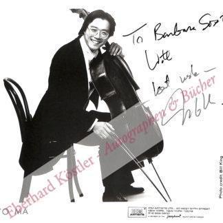 Ma, Yo-Yo, Cellist (geb. 1955).