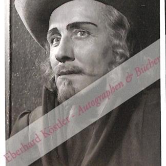 Osthoff, Otto, Schauspieler (1906-1957).