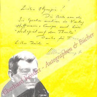 Haupt, Ullrich, Schauspieler (1915-1991).