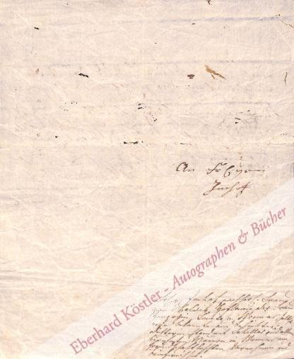 Schiller, Friedrich, Schriftsteller (1759-1805).