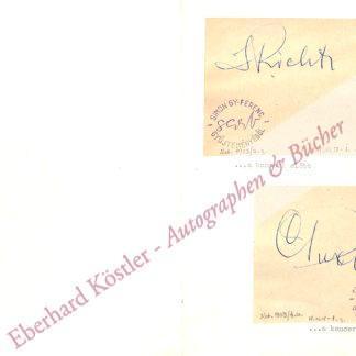 Richter, Swiatoslaw, Pianist (1915-1997).