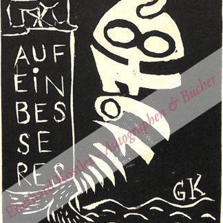 Kunert, Günter, Schriftsteller (geb. 1929).
