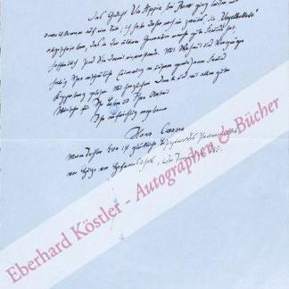 Carossa, Hans, Schriftsteller und Arzt (1878-1956).