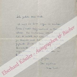 Ernst, Max, Maler (1891-1976).
