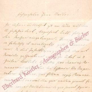Staufer, Vincenz, Lehrer und Bibliothekar im Stift Melk (1821-1889).