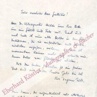 Nick, Dagmar, Schriftstellerin (geb. 1926).