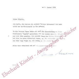 Unseld, Siegfried, Verleger (1924-2002).