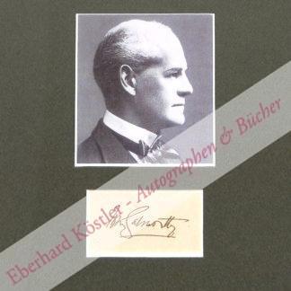 Galsworthy, John, Schriftsteller und Nobelpreisträger (1867-1933).