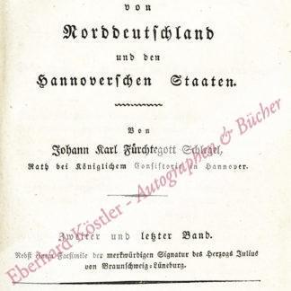 Schlegel, Johann Karl Fürchtegott,  .