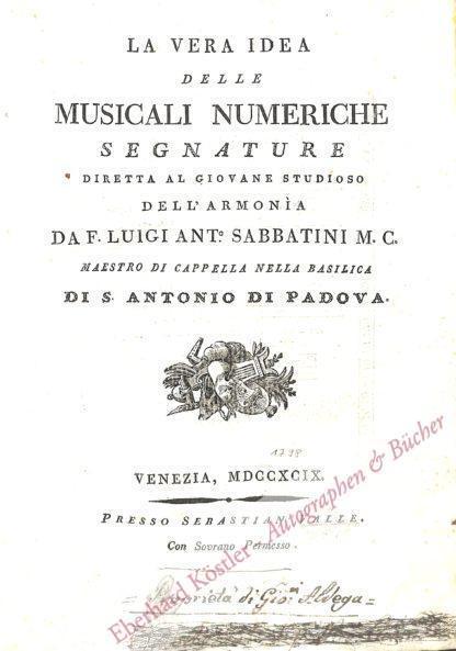 Sabbatini, Luigi Antonio,  .