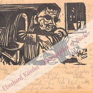 Kirchner, Ernst Ludwig, Maler (1880-1938).