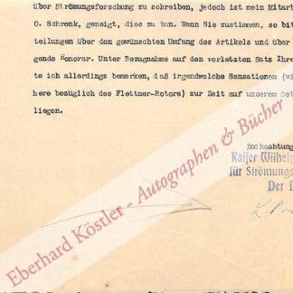 Prandtl, Ludwig, Strömungsphysiker (1875-1953.