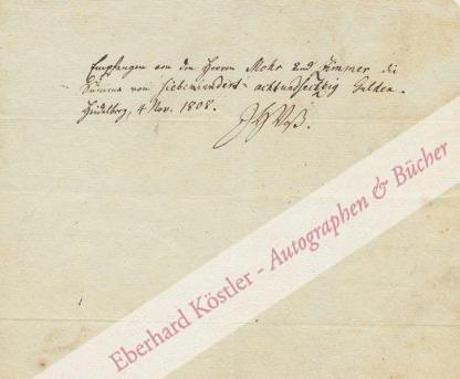 Voß, Johann Heinrich, Schriftsteller (1751-1826).