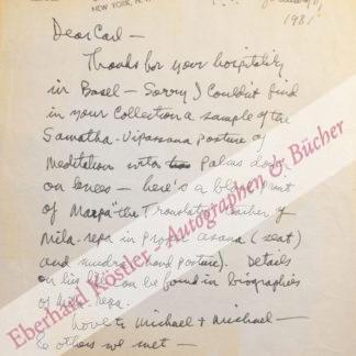 Ginsberg, Allen, Schriftsteller (1926-1997).