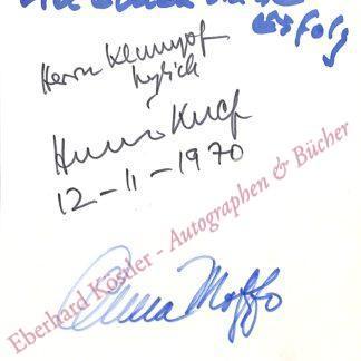 Knef, Hildegard, Schauspielerin und Sängerin (1925-2002).