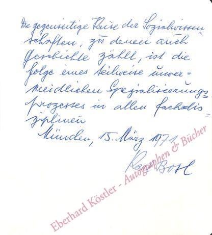 Bosl, Karl, Historiker (1908-1993).