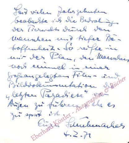 Zoologe und Tierfilmpionier (1906-1973).