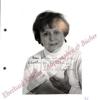 Kaut, Ellis, Schriftstellerin und Kinderbuchautorin (1920-2015).