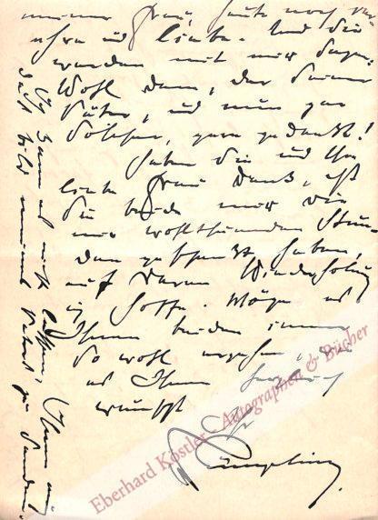preußischer Legationsrat und Autor der Genealogie der Familie (1845-1923).