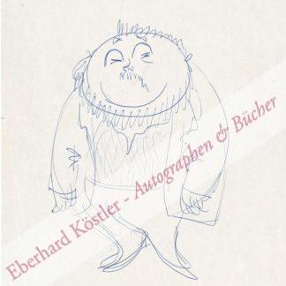 Qualtinger, Helmut, Schauspieler und Kabarettist (1928-1986).
