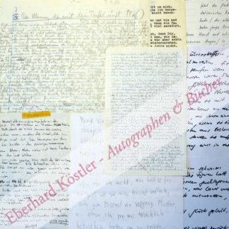 Schriftzeugnisse von ca. 240 Schweizer Autorinnen und Autoren,  .