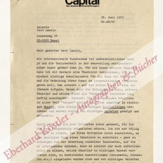 Bongard, Willi, Kunst- und Wirtschaftsjournalist (1931-1985).