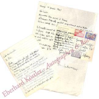 Hundertwasser (eig. Stowasser), Friedrich (Friedensreich), Maler und Grafiker (1928-2000).
