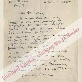 Cahn, Marcelle, Malerin (1895-1981).