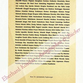 Brock, Bazon, Künstler, Dramaturg und Kunsttheoretiker (geb. 1936).
